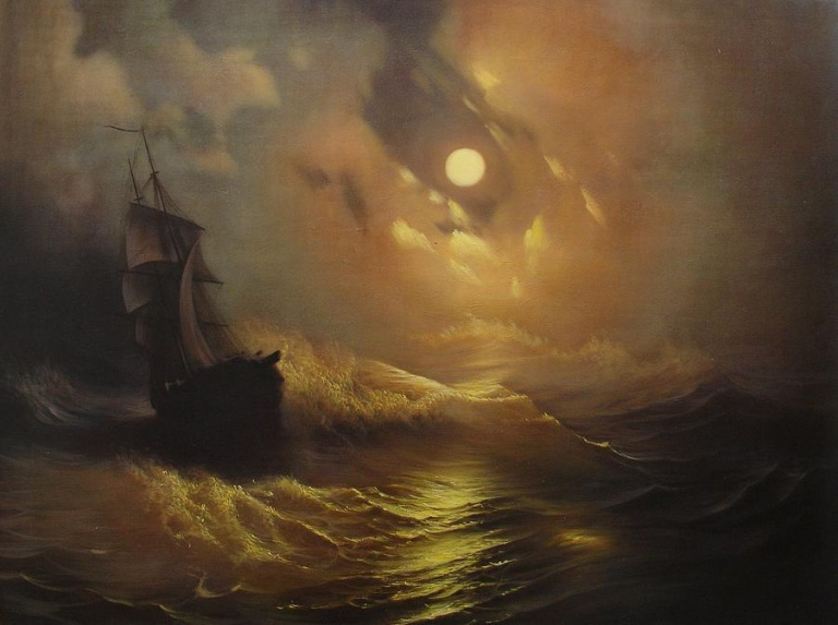 ship-at-sea-rembrandt