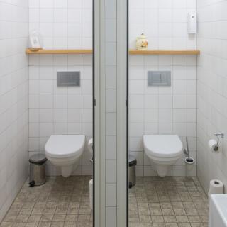 Rénovation des toilettes Townhouse before